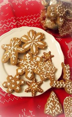 Christmas cookies product of gingerbread Christmas cookies in spice bread Easy Holiday Cookies, Easy Christmas Cookie Recipes, Christmas Baking, Christmas Cookies, Spice Bread, Wood Buffet, Galletas Cookies, Candy Making, Gluten Free Cookies