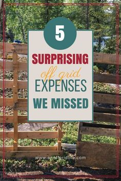 Off Grid Costs: 5 Expenses We Didn't Expect 5 Surprising Off Grid Expenses We Missed # Off Grid Homestead, Homestead Living, Log Cabin Living, Generator Parts, Off Grid Cabin, Off Grid House, Greenhouse Plans, Off The Grid, Alternative Energy