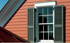Custom Shutters by Muhler Charleston, SC - I'd love to incorporate real shutters, great for battening down the hatches when a storm is coming.