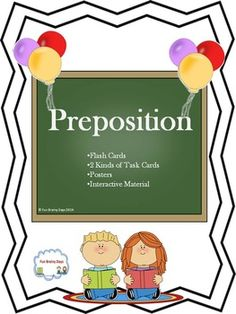 Preposition Fun way to learn preposition: Preposition of Time: At , On and In and Preposition of Location: At, In, Inside , On, Beside, Under, Over, Above, Behind, Between and Outside Prepositional Phrase $7.00 Spelling And Grammar, Grammar Lessons, Grammar Activities, Classroom Activities, Prepositional Phrases, Thing 1, Prepositions, Creative Teaching, Elementary Education