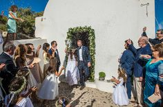 We are smitten today with this wonderful summer wedding in Santorini captured beautifuly by Studio Phosart. As if the gorgeous Greek island was not Greek Wedding, Summer Wedding, Wedding Day, Santorini Wedding, Wedding Moments, Happily Ever After, Groom, Romantic, Bride
