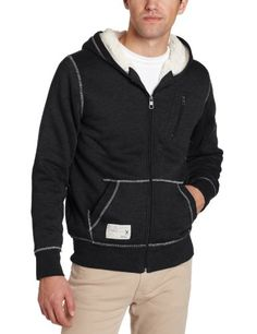 Marc Ecko Cut & Sew Men's Sherpa Lined Hoodie - Doesn't look very easy, but maybe will try
