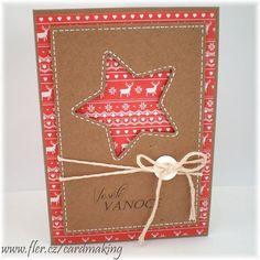 ...vánoční přání (8)..... / Zboží prodejce cardmaking   Fler.cz Advent, Cardmaking, Diy And Crafts, Christmas Cards, Gift Wrapping, Winter, Gifts, Christmas E Cards, Gift Wrapping Paper