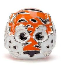 The perfect Auburn University bangle for your game day outfit. The Auburn bracelet is adjustable and features an orange AU accented by blue and orange crystals