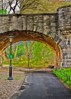Tunnel in Central Park Manhattan, New York City Dont miss Epics -> Follow Epic Travel