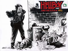 Max Fiumara: Hellboy 100 project for Hero Initiative Support Heroes: https://www.facebook.com/heroinitiative/info?tab=page_info