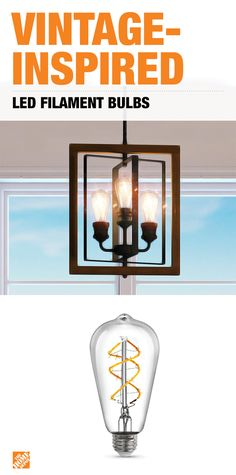 Feit Electric 6.5 Watt Soft White (2150K) ST19 Dimmable LED Clear Vintage  Style Light Bulb