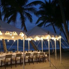 Alamanda Palm Cove by Lancemore - Beachfront dining under the stars by Nu Nu Restaurant