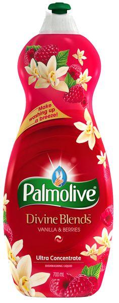 Palmolive Divine Blends Berry & Vanilla Dish Detergent Medicine Packaging, Soap Packaging, Brand Packaging, Packaging Design, Washing Detergent, Dish Detergent, Dishwasher Detergent, Eco Friendly Cleaning Products, Dishwashing Liquid