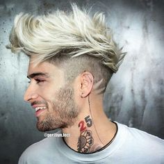 by mens and hair styles Cabelo Zayn Malik, Zayn Malik Hairstyle, Zayn Malik Beard, Cool Hairstyles For Men, Boy Hairstyles, Haircuts For Men, Zayn Malik Photoshoot, Zayn Malik Pics, Smart Model