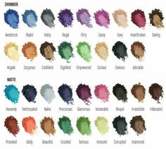 Loose eye pigments! A color for every mood! Stay on all day! #younique #eyes #eyeshadow