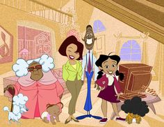 The Proud Family- disney channel show back in the day