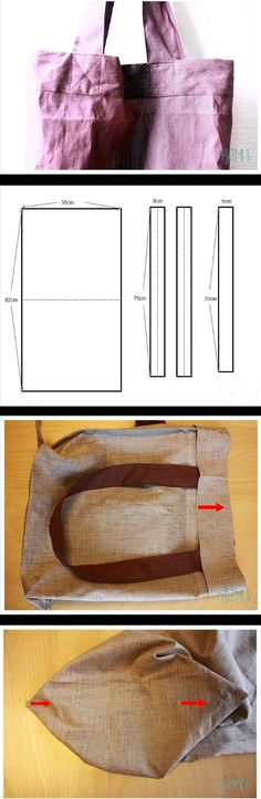 Easy step to step diy bag http://fastmade.blogspot.com/2016/11/very-simple-easy-step-to-step-bag.html