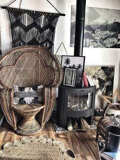 Nouveau fauteuil vintage #osier #emmanuelle #fauteuilosier #decoboheme