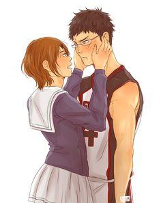 Kuroko no Basuke Anime Fnaf, All Anime, Kawaii Anime, Manga Anime, Anime Art, Kagami Kuroko, Kagami Taiga, Kuroko No Basket, Basketball Baby