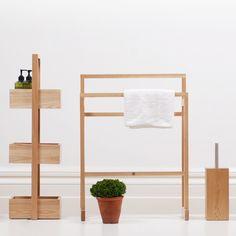Bad accessoires holz  Die Möve Handtuchhalter aus der Kategorie Bamboo Square aus Bambus ...