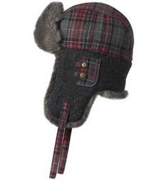 FU-R Headwear - Katcha, Wool Blend, Trapper Style, Faux Fur Fleece Lined Hat, Carbon by TurtleFur. $39.95. Katcha takes you beyond the basic trapper with plaid fabric crown, tweed knit earflaps, a tiny plaid pocket piped with reflective trim, all lined with soft Faux Fur and quilted satin.. Save 33% Off!