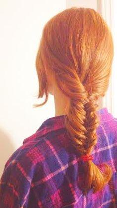 Redhead braids blow school girl urin
