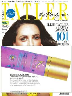 WOHOOO! We're very proud and pleased that Irish brand @KARORA 's GRADUAL BRONZING MOISTURISER has WON the Irish Tatler Beauty Award for BEST GRADAUL TAN! Beauty Awards, Moisturiser, Irish, Reading, Books, Style, Moisturizer, Livros, Irish People