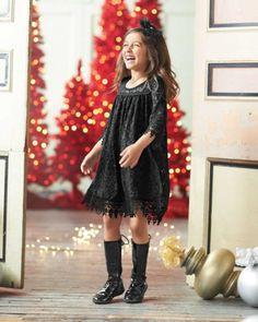 Girls Dreamy Lace Dress