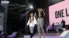 #ONELOVEMANCHESTER with @arianagrande @mileycyrus  God Bless Manchester  Give you a hug  #ARIANAGRANDE #MILEYCYRUS #JUSTINBIEBER #KATYPERRY