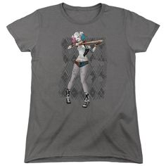 "Checkout our #LicensedGear products FREE SHIPPING + 10% OFF Coupon Code ""Official"" Suicide Squad / Harley Argyle - Women's Short Sleeve  - Suicide Squad / Harley Argyle - Women's Short Sleeve  - Price: $29.99. Buy now at https://officiallylicensedgear.com/suicide-squad-harley-argyle-women-s-short-sleeve"