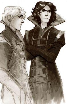 sketch--Baz and Simon?
