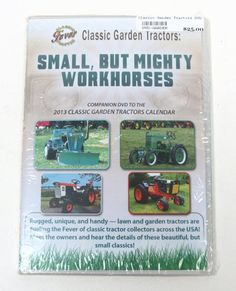 Small But Mighty Workhorses DVD Classic Garden Tractors in Action