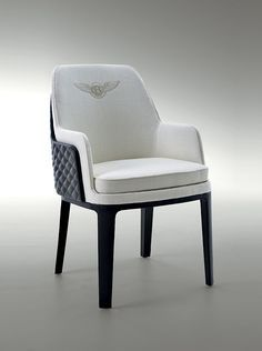 be kendal chair, from the bentley home collection Bentley Furniture, Sofa Furniture, Furniture Design, Dinning Chairs, Side Chairs, Versace Furniture, Corporate Interior Design, Round Sofa, Single Chair