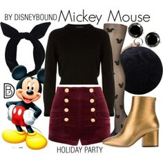 A fashion look from December 2017 by leslieakay featuring Helmut Lang Pierre Balmain Salvatore Ferragamo Carvela Lulu in the Sky Christmas disney disneyb. Disney Bound Outfits Casual, Cute Disney Outfits, Disney Princess Outfits, Disney Themed Outfits, Disneyland Outfits, Disney Dresses, Cute Outfits, Princess Inspired Outfits, Disney Fancy Dress