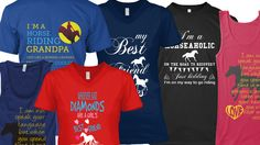 Huge collection of Horse T-shirt for you https://teespring.com/stores/horsetshirtusa