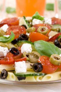 Greek Penne Pasta (Weight Watchers)