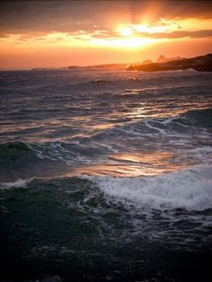 The ocean, sunsets, and Newport, Rhode Island <3