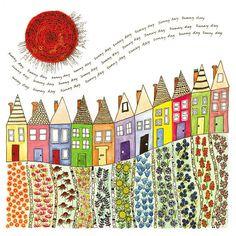 Sunny Day Card--Fiona Willis