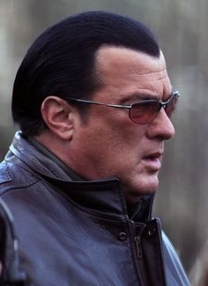 Steven Seagal Photos - Steven Seagal Hits The Set With Sarah - Zimbio