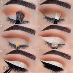 Eye Makeup Tips – How To Apply Eyeliner Hooded Eye Makeup, Eye Makeup Tips, Smokey Eye Makeup, Makeup Goals, Makeup Geek, Makeup Inspo, Eyeshadow Makeup, Makeup Addict, Beauty Makeup