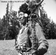 """""""...we don't have to lose all our Indian ways and habits. As good Indians, we can make a substantial contribution to Canadian culture."""" Walking Buffalo 