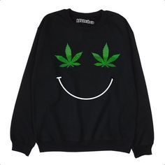 ❝WEED LEAF SMILEY❞ SWEATSHIRT WHAT SIZE DO I GET? (see next image for useful size guide too!) S - 34/36 |Size UK 8 / 10| M - 38/40 |Size UK 12 / 14| L - 42/44 |Size UK 16 / 18| XL - 46/48 |Size UK 20 / 22| 2XL - 50/52 |Size UK 24 / 26| WHEN WILL I GET IT? ▪ Dispatch 1-2 working days ▪
