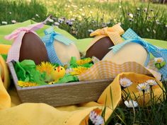 Uova di Pasqua ciocorì e biancorì | Home Sweet Home