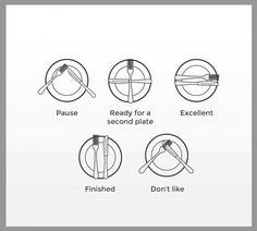 Table manners you should know..