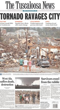 Tuscaloosa, Alabama Tornadoes