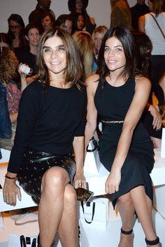 Carine Roitfeld Photos - Mugler : Front Row - Paris Fashion Week Womenswear Spring/Summer 2015 - Zimbio