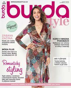 55fa20e4371 Burda Style 11 2018 – Listopadové vydání měsíčníku Burda Style v prodeji od  24.