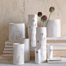 clustered vases. see their indoor garden collection