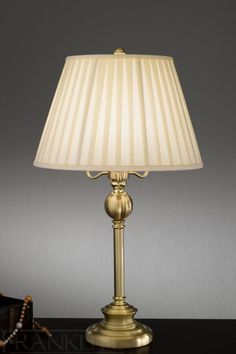 Polished Brass Table Lamps This one looks really pretty