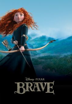 #110 Brave 2012 (Dir. Mark Andrews & Brenda Chapman. With voices of Kelley MacDonald, Emma Thompson, Billy Connolly, Julie Walters, Robbie Coltrane, Craig Ferguson)