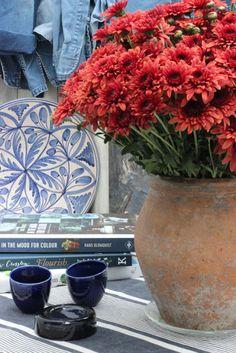 Um Grupo para o fim-# 88-crisântemos em cores do outono-Ingrid Henningsson-de Primavera e Verão