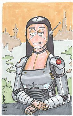 Mona Lisa v2 [Ben Rollman - xadrian on FLICKR] (Gioconda / Mona Lisa)