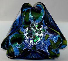 dino martens murano glass   ... Murano-Dino-Martens-Millefiori-Tutti-Fruitti-Multi-Color-Art-Glass