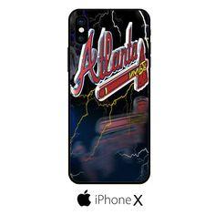 Atlanta Bravers Storm Logo IPHONE X
